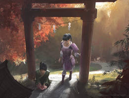 Ki-Rin Shrine by ChrisOstrowski