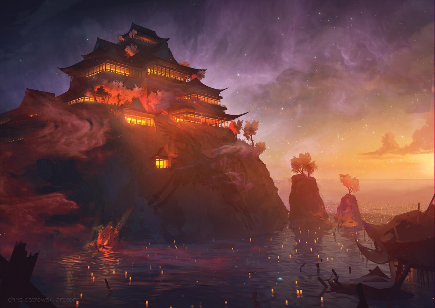 The Esteemed Palace by najtkriss