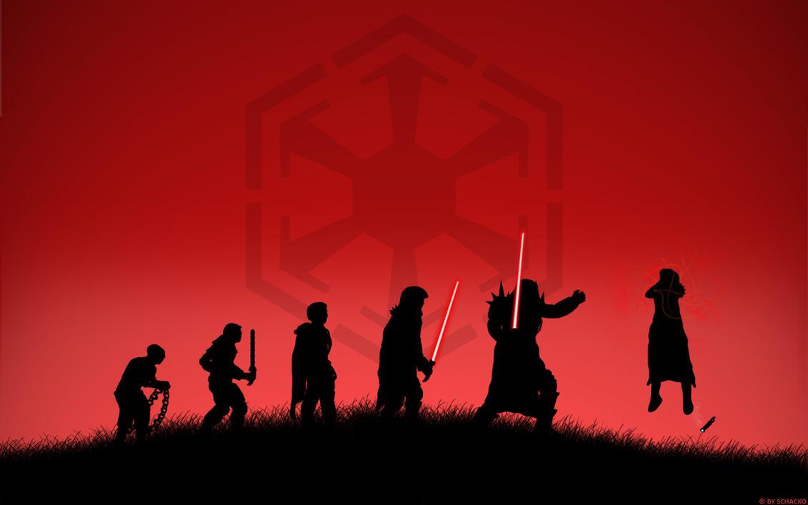 Swtor Sith Warrior Evolution By Schacko