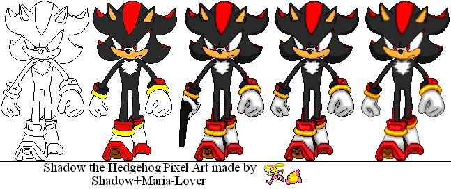 Shadow the Hedgehog by ShadowMariaFan