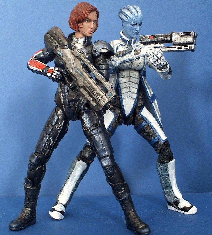 Mass Effect 3 Shepard And Liara Mass effect squad - liara andMass Effect 3 Liara And Shepard
