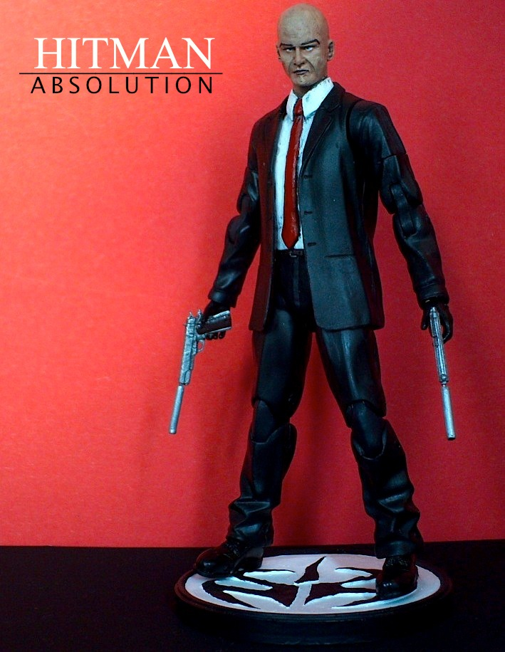 Hitman Absolution custom action figure by SomethingGerman