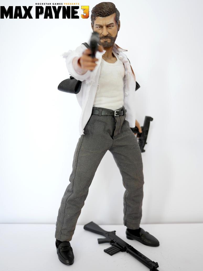 Max Payne 3 custom action figure by SomethingGerman on ...