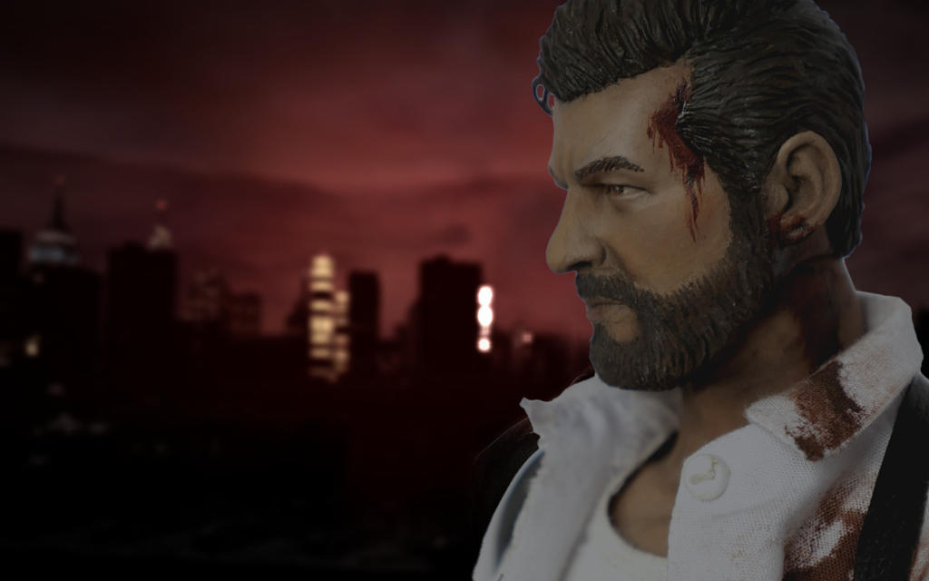 Max Payne 3 custom action figure by SomethingGerman