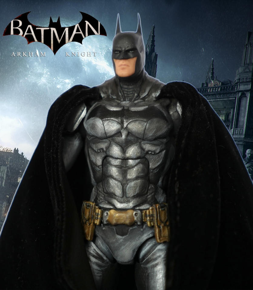 Batman Arkham Knight Custom Action Figure by SomethingGerman
