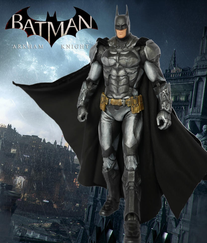 Batman Arkham Knight Custom Action Figure by SomethingGerman