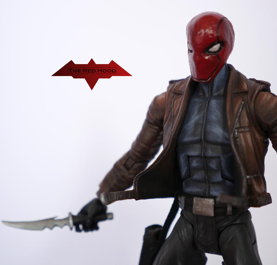 The Red Hood Custom Action Figure by SomethingGerman