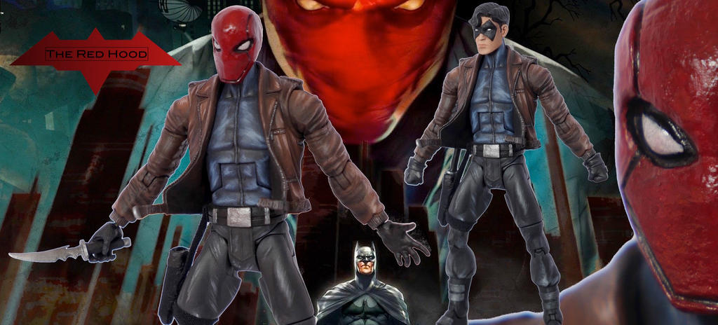 The Red Hood Custom Action Figure by SomethingGerman