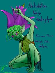 Hally Nadragulya by DFroGGotten1