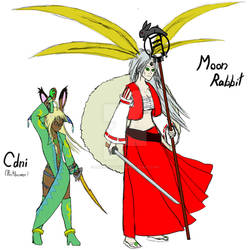 Pactbearer Cdni and Moon Rabbit (second version)