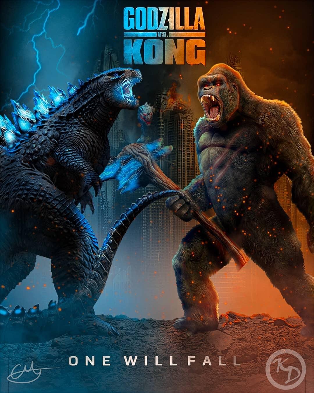Godzilla x Kong - Pôster