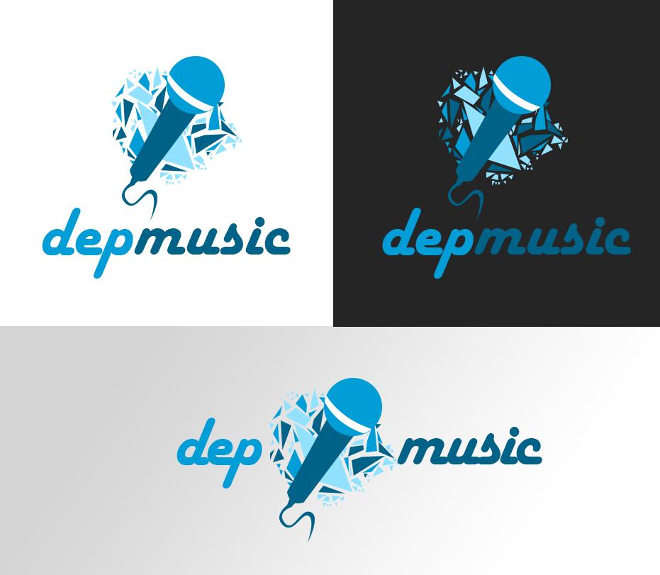 Dep Music - Logo by ProudlyVisionArt