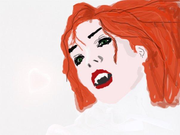 Vampire Girl by MorMelkor