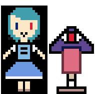 Pixel Art: Kogasa Tarata by AlyssaWalfas40