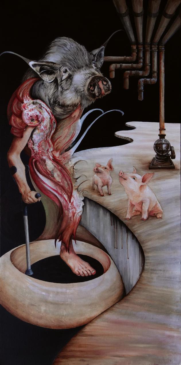 sacrifice/crippled by parmentides