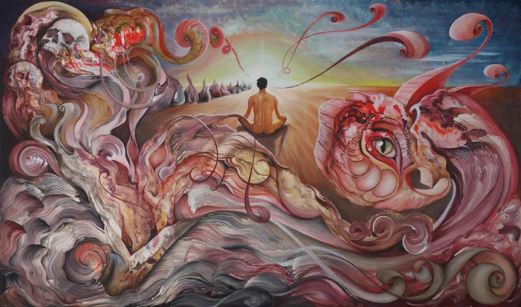 Deep inside the spirit molecule by parmentides