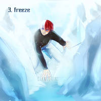 Inktober - #4 FREEZE