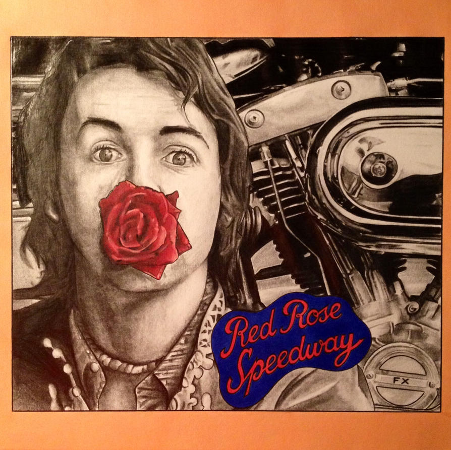 Paul McCartney Red Rose Speedway 1973 By JonOwens