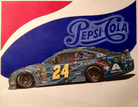 Jeff Gordon 2014 Pepsi made with Real Sugar Car