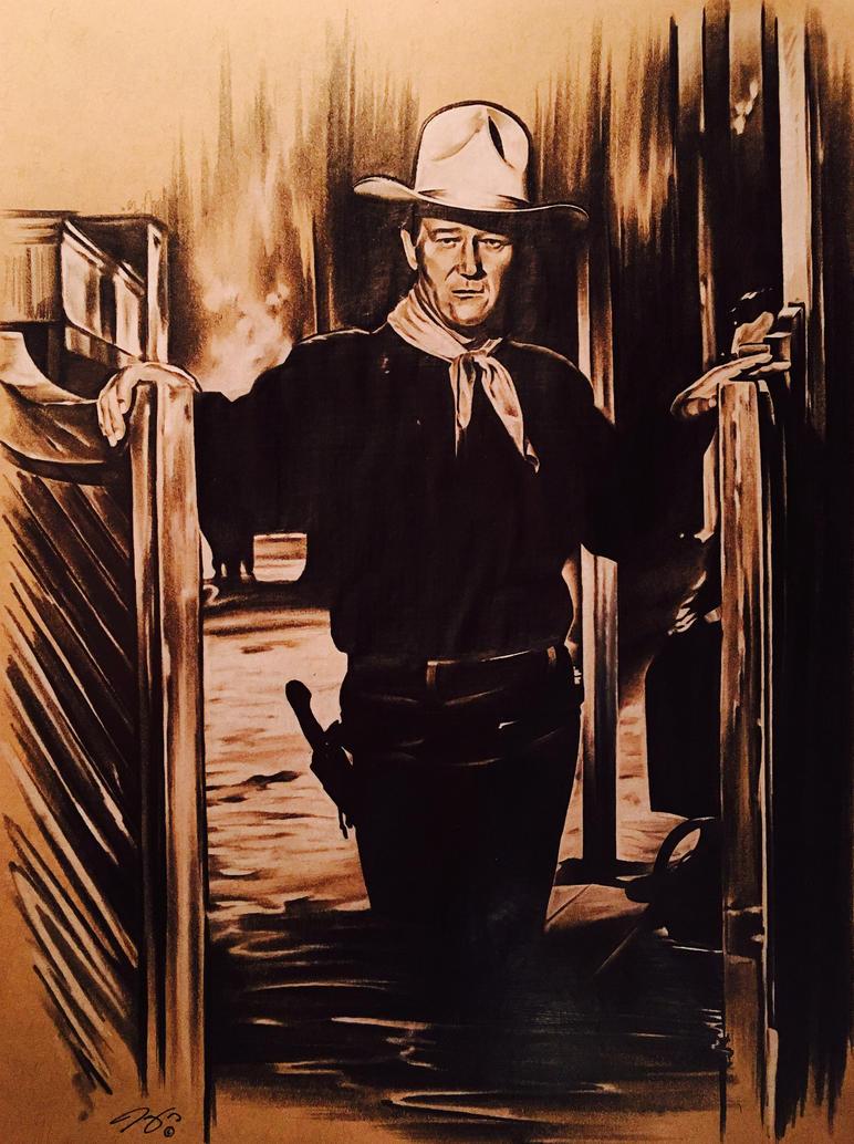 John Wayne by JonOwens