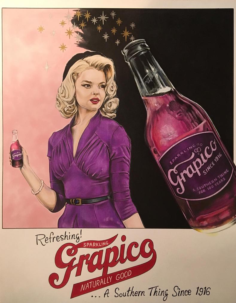 Grapico advertising design by JonOwens