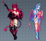 (Closed) Demon girls Adoptables! [Set Price]