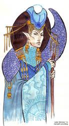 Day 13 - Thalmor Ambassador by Lady-Nerevar