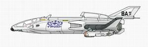 Terran Praesidium Barracuda II Class Fighter