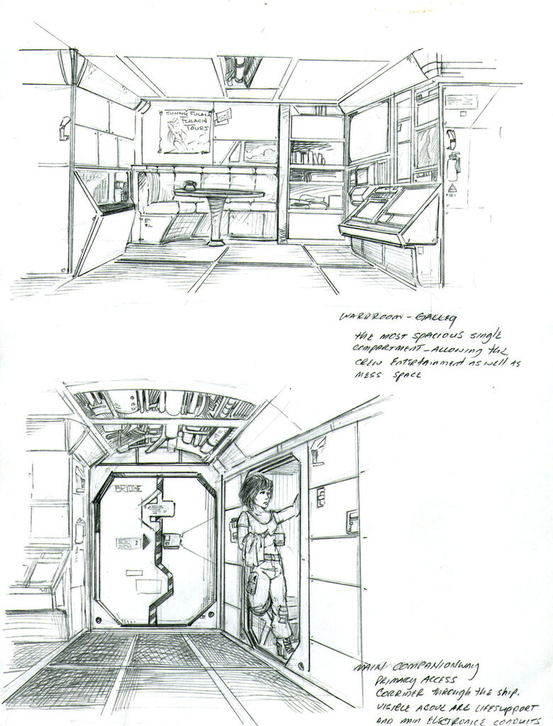 Scout Interior Sketches 350262278 on Pre Worksheet Artist