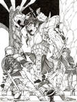 Troll Battle by Sabakakrazny