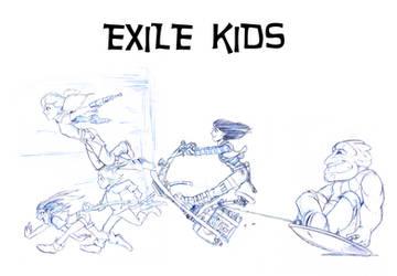 Exile Kids Composite B Copy by Sabakakrazny