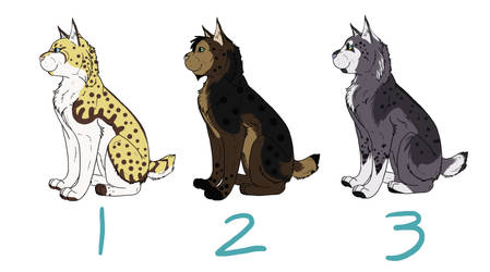 Bobcat Point Adoptables-OPEN by Frostbite465