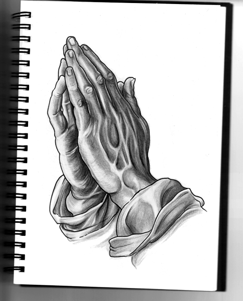 Praying hands by SilentStudiosUK on DeviantArt