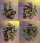 Silver Treble-Tailed Dragon
