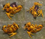 Gold Bass-Tail Dragon