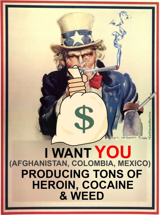 uncle sam is a junkie by GalvanizedCorpse
