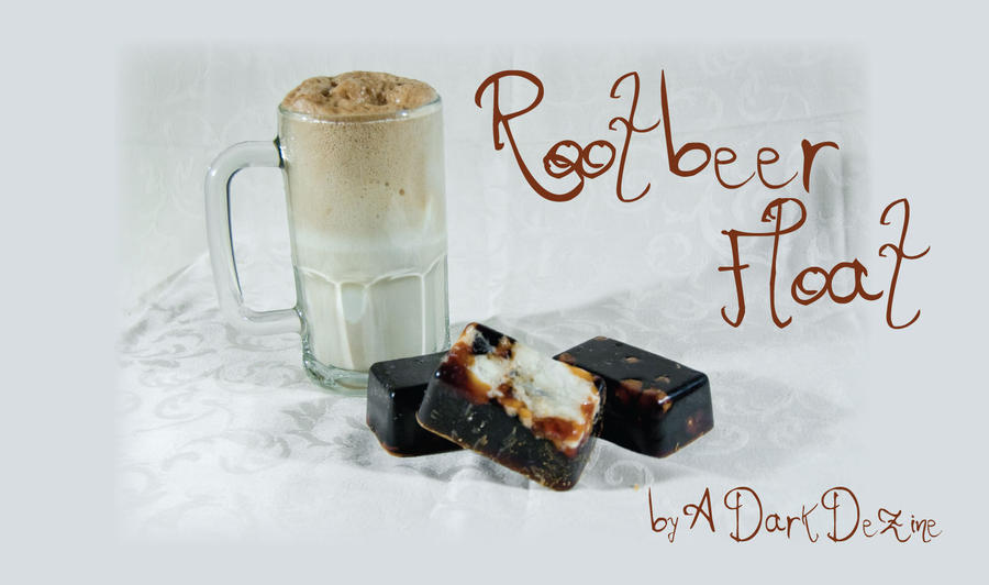 root beer float soap by ADarkDezine