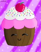 Kawaii Cupcake by SweetArtS2