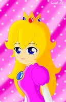 Princess Peach by SweetArtS2