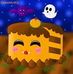 Pumpkin Cake - Halloween