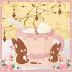 Hot Chocolate with Marshmallows by SweetArtS2