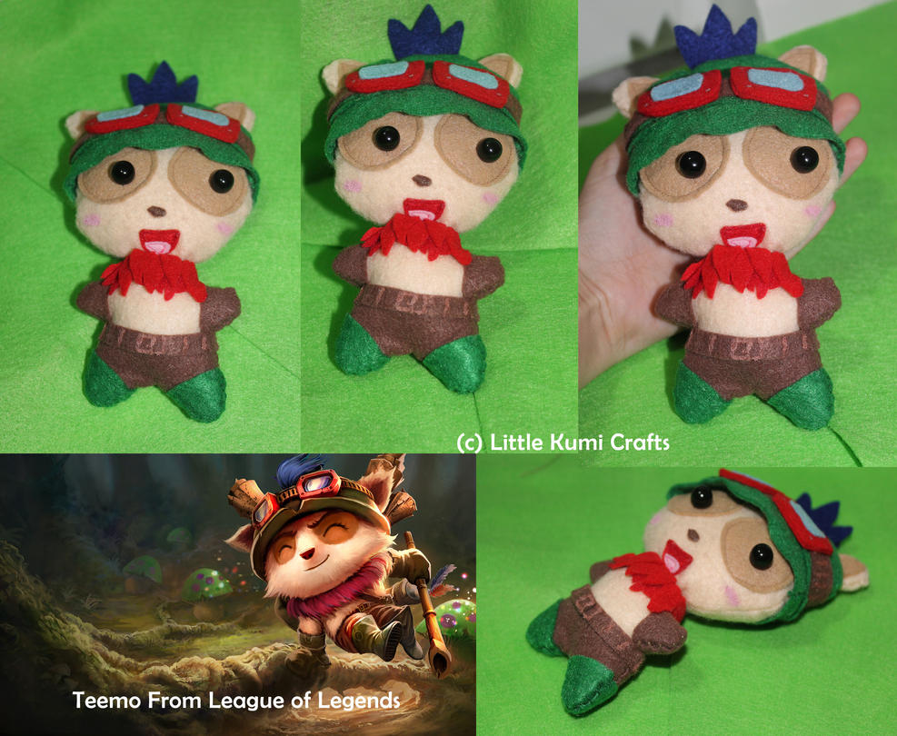 Teemo Chibi Plush from League of Legends by lkcrafts on ...  Teemo Chibi Plu...