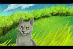 Greystripe by Happy--Cat