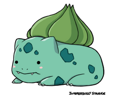 Bulbasaur by InterestinglyStrange
