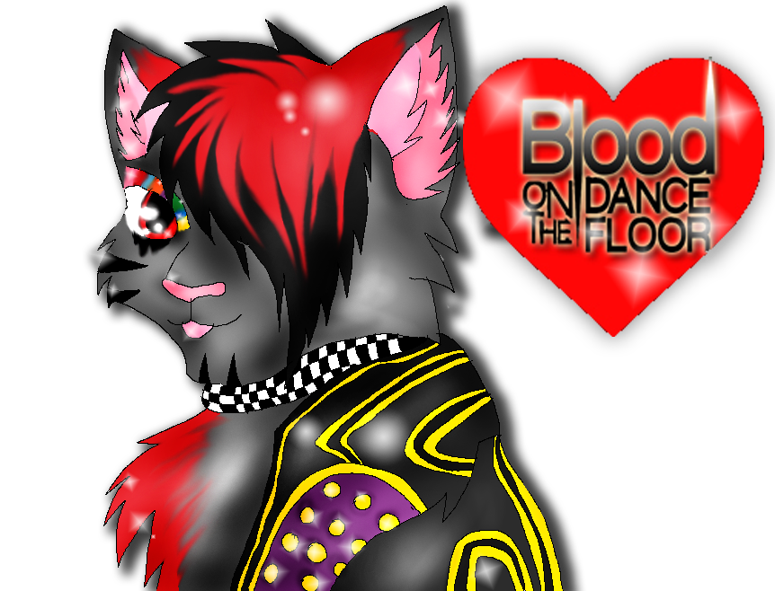 BOTDF  cat by XxsilvixX