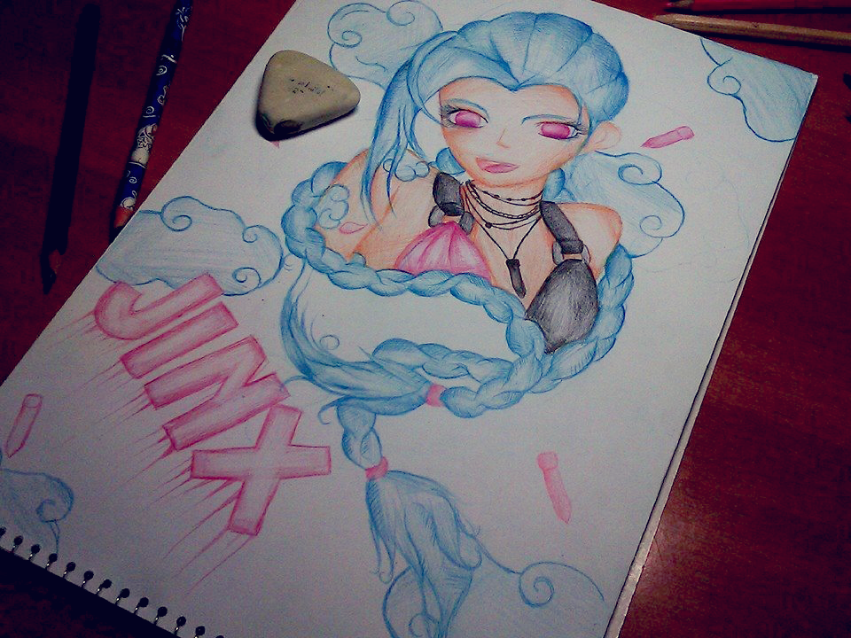 Jinx League of Legends by XxsilvixX