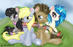 where are more then background ponies