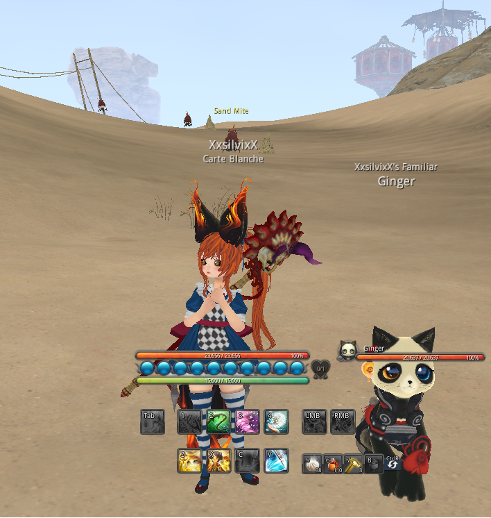 does anyone play blade and soul ? by XxsilvixX