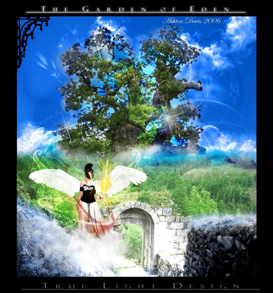 Garden Of Eden Landscape: The Garden Of Eden By Junoknight On DeviantArt