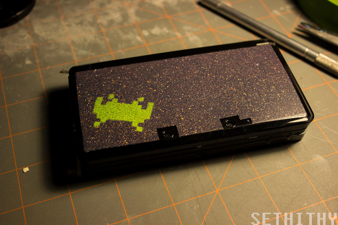 How To Spray Paint A Ds Xl